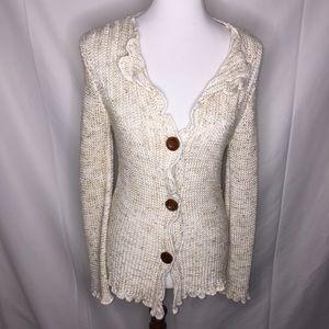 BCBG Max Azria Knit Cardigan Sweater